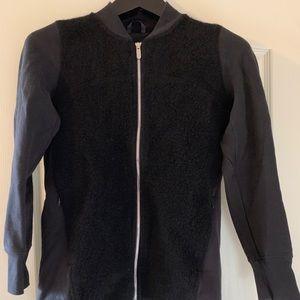 NWOT Lululemon Black Sherpa Jacket